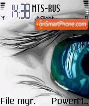 Blue Eye theme screenshot