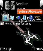 BCRich Warlock theme screenshot