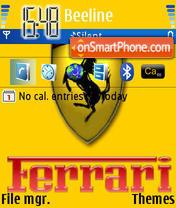 Ferrari 438 theme screenshot