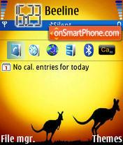Kanguru theme screenshot