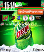 Mountain Dew 01 theme screenshot