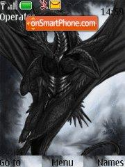The Dark Dragon theme screenshot