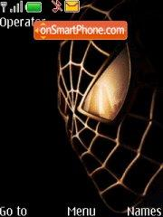 Spiderman Gold theme screenshot
