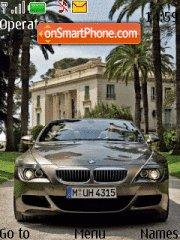 BMW 6 theme screenshot