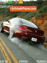 BMW 6 Red theme screenshot
