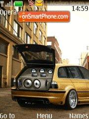 BMW Stereo theme screenshot