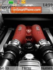 F430 engine theme screenshot