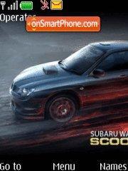 Capture d'écran Subaru Impreza WRX thème