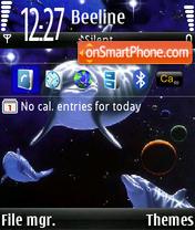 Oceanik theme screenshot