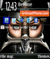 Courageous theme screenshot