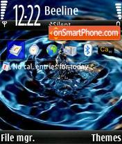 Скриншот темы Water