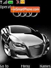 Audi Locus Silver theme screenshot
