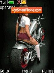 Chopper Girl tema screenshot