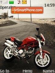 Ducati Monster theme screenshot