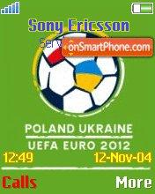 Uefa Euro 2012 theme screenshot