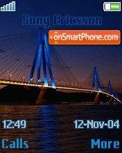 Rio Bridge In Patra es el tema de pantalla
