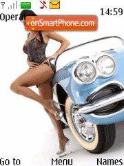 Old Style Car theme screenshot