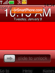 Girlphone tema screenshot