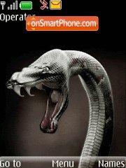 Скриншот темы Snake Ressurection