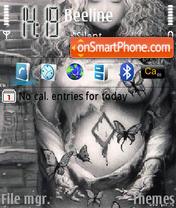 Fantasy Dreamgirl theme screenshot