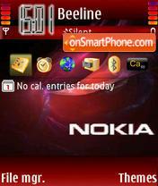 Capture d'écran Nokia 7614 thème