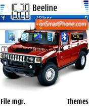 Hummer 04 es el tema de pantalla