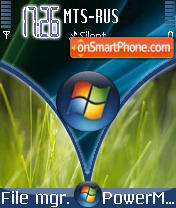 Windows Vista theme screenshot