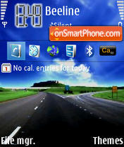 Road theme screenshot