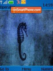 Seahorse theme screenshot