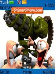 Worms 4 theme screenshot