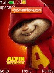 Alvin tema screenshot