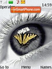 Butterfly Eye theme screenshot