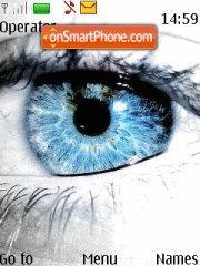 Frozen Eye theme screenshot