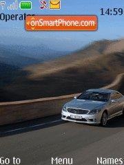 Capture d'écran Mercedes Deluxe thème