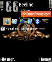 Mgm Leo theme screenshot