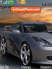 Toyota Celica theme screenshot