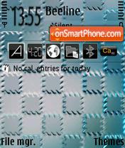 Iron theme screenshot