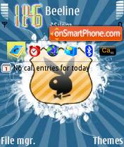 Blue Playboy theme screenshot