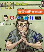 Shikamaru 01 theme screenshot