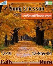 Pzd Autumn theme screenshot