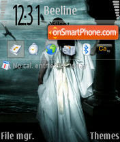 Скриншот темы Ligh the dead N73