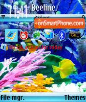 Water and Fish os9n73 theme screenshot