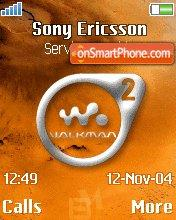 Walkman On Mars tema screenshot