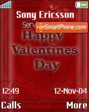 Valentine 06 es el tema de pantalla