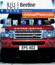 Скриншот темы Range Rover 02