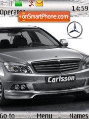 Mercedes C Class tema screenshot