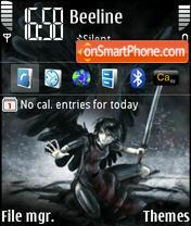 Black Krila theme screenshot