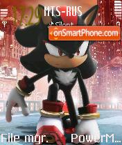 Sonic 04 tema screenshot