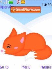 Snow Fox theme screenshot
