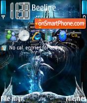 Wrath Of The Lich King v3.0 theme screenshot